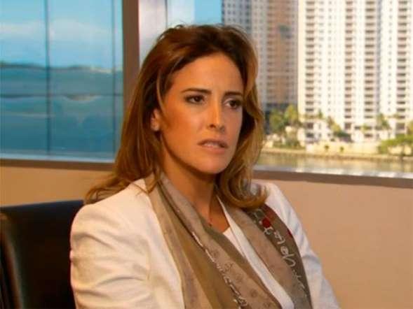 Ex-BBB Juliana Leite explica escândalo com senador americano