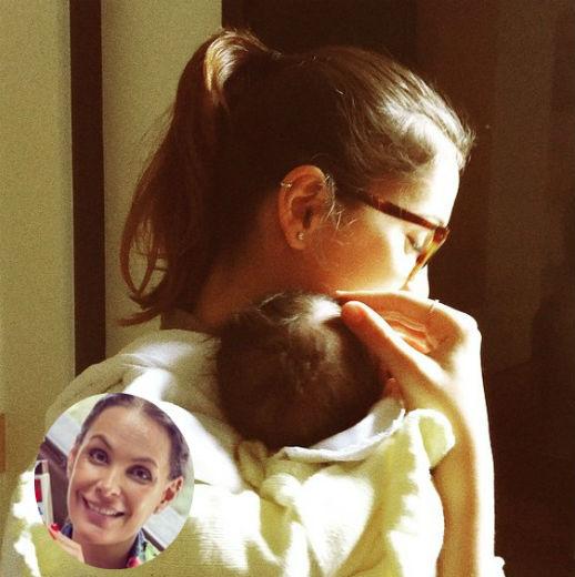 Carolina Ferraz fala após dar à luz:
