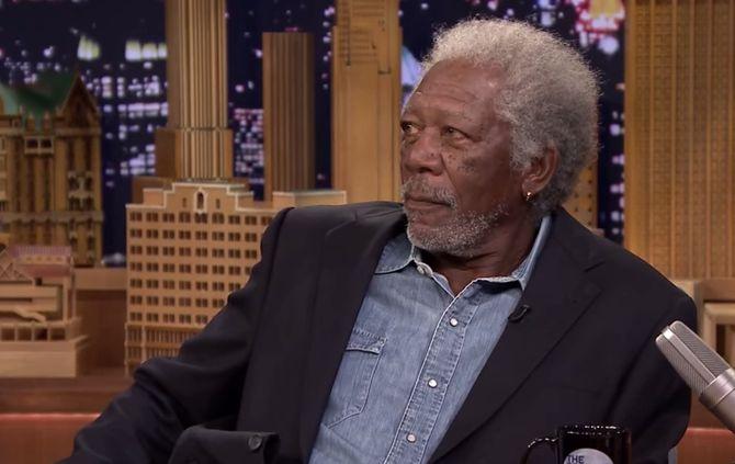 Morgan Freeman confessa que consome marijuana