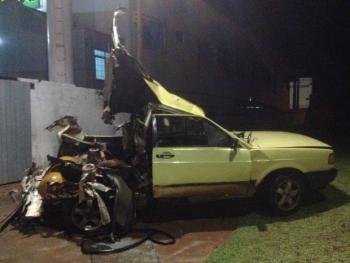 Motorista usa gás de cozinha e carro explode em posto de gas