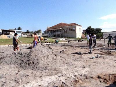 Entorno do palácio das águias recebe obras de revitalização