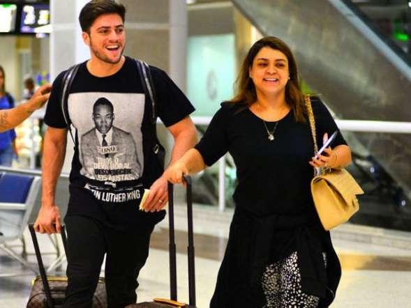 Preta Gil e Rodrigo Godoy embarcam para lua de mel