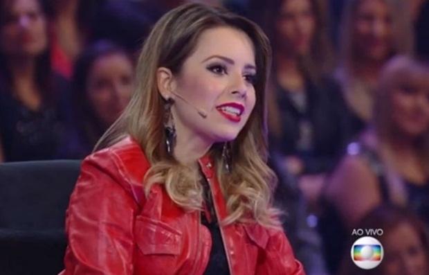 """No """"SuperStar"""", da Globo, Sandy diz que não ama música serta"""