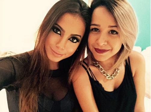 Anitta mora com fã que já dividiu teto com Preta Gil