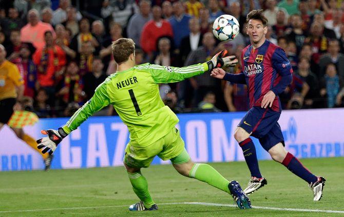 «Messi é de outro mundo» - Guardiola