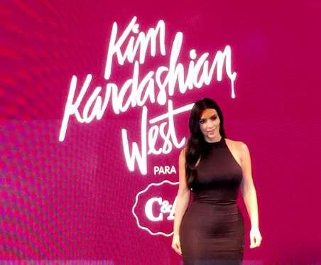 Kim Kardashian pra C&A, a coleção