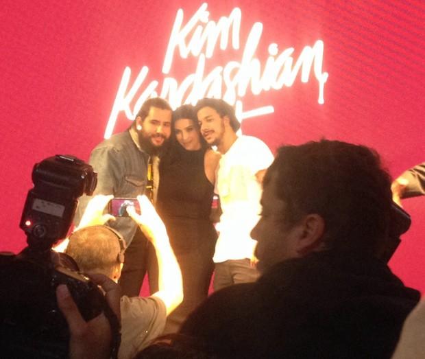 Kim Kardashian no Brasil