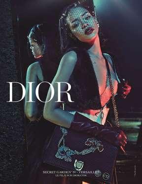 Saíram as fotos da campanha da Dior com a Rihanna