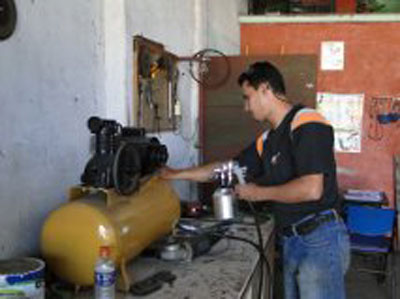 Pintores industriais requisitados no mercado de trabalho