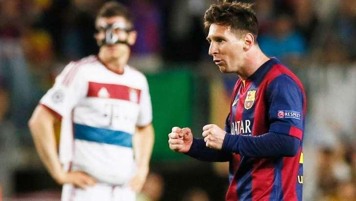 Após show de Messi, desfalcado Bayern tenta milagre contra o