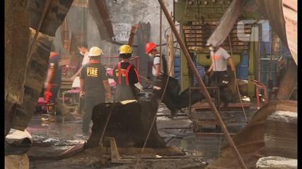 Número de mortos em incêndio em fábrica nas Filipinas sobe p